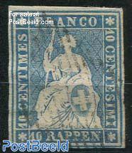 10R, Blue, 2nd Munich print, used