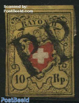 10Rp, Used PP