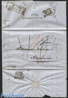 Letter from Basel to Arnhem (NL)