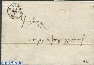 Folding letter from bern