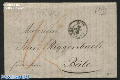 Letter from Lausanne to Basel