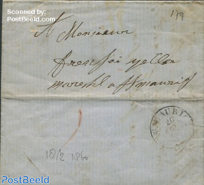 Folding letter from Zwitserland