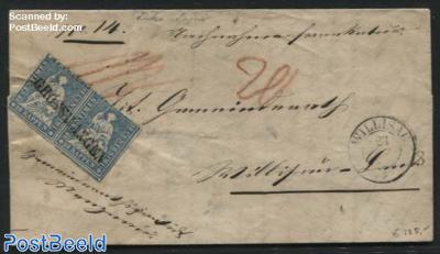 Letter from Grosswangen to Willisau