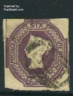 6p, Violet, used,