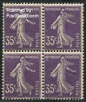 35c, Block of 4 [+], Stamp out of set