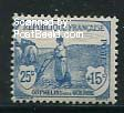 25+15c blue, Stamp out of set