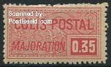 0.35Fr, Colis Postal, Stamp out of set