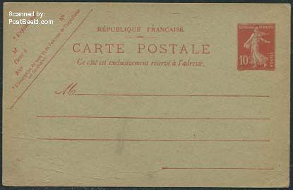 Postcard 10c