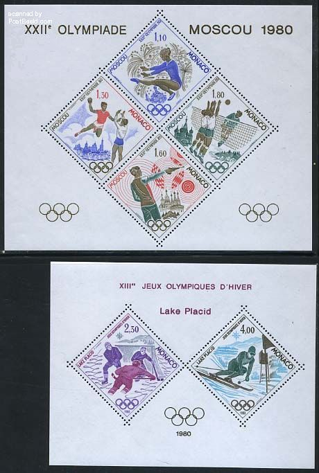 Olympic games 2 s/s (not valid for postage)