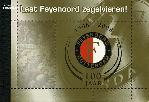 Laat Feyenoord zegelvieren (2) Prestige booklet