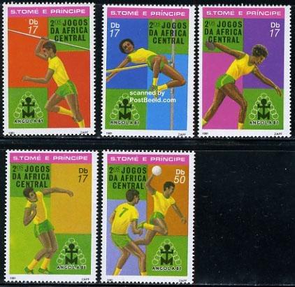 Central African games 5v