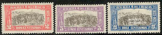 Uprising of 1825 3v