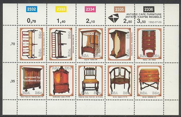 Image of Antique cape furniture 10v m/s